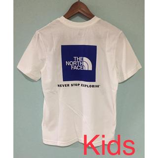 THE NORTH FACE - ノースフェイス Tシャツ kids 子供 海外限定 ボックスロゴ 新品