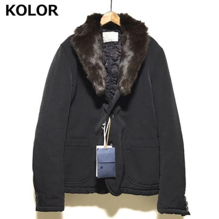 kolor - KOLOR 定価13万 新品 17AWファージャケット カラー