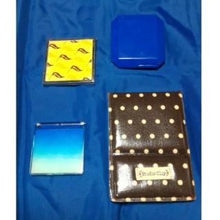 スタディオクリップ(STUDIO CLIP)の○コンパクトミラーセット 4つ(ミラー)