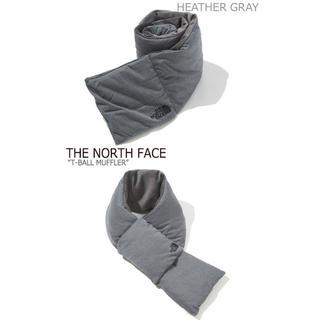 ザノースフェイス(THE NORTH FACE)の新品 ノースフェイス ティーボールマフラー グレー(マフラー/ショール)