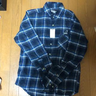カンゴール(KANGOL)のKANGOL チェックシャツ(カットソー(長袖/七分))