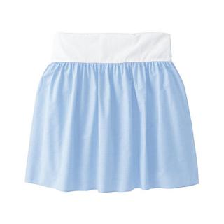 ファミリア(familiar)のファミリア  ベッドスカート 水色 ギンガムチェック(シーツ/カバー)