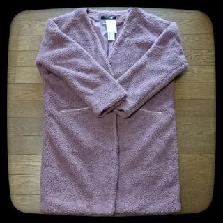 シマムラ(しまむら)の【新品未着用】ZIPポケットボアコート ボアジャケット(毛皮/ファーコート)