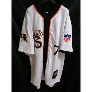 Negro league ニグロリーグ ★ ブラックソックス ベースボールシャツ(ジャージ)