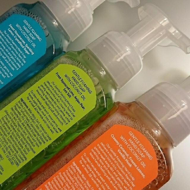 Bath & Body Works(バスアンドボディーワークス)のセット バスアンドボディワークス ハンドソープ と ボディローション コスメ/美容のボディケア(ボディソープ/石鹸)の商品写真