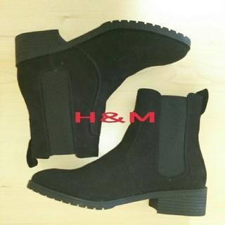 H&M - 新品未使用 H&M サイトゴアブーツ 39