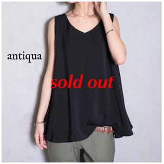 antiqua - antiqua tops×Black
