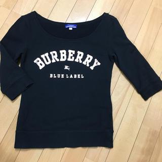 バーバリーブルーレーベル(BURBERRY BLUE LABEL)のバーバリーブルーレーベル 7分袖トレーナー(カットソー(長袖/七分))