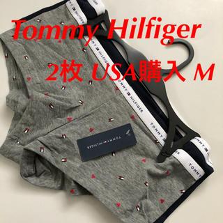 トミーヒルフィガー(TOMMY HILFIGER)のTommy Hilfiger ショーツ 下着 トミー 2枚 米購入 M 伸縮性(ショーツ)