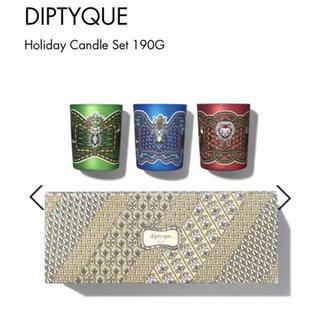 ディプティック(diptyque)のdiptyqueキャンドルセット 《2018クリスマス限定品》(キャンドル)