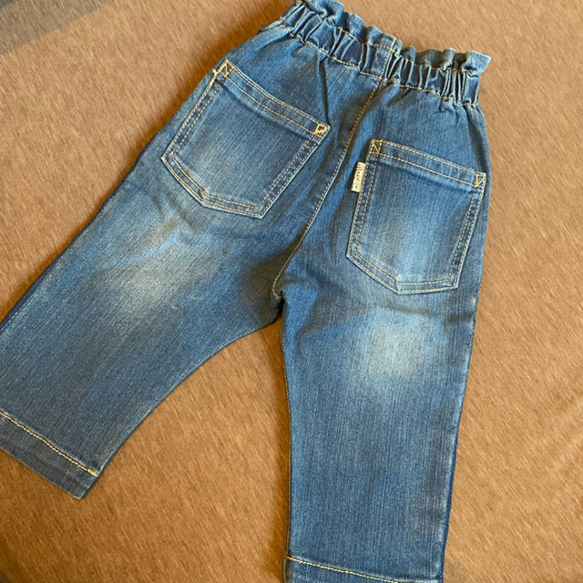 BREEZE(ブリーズ)のブリーズ デニムパンツ キッズ/ベビー/マタニティのベビー服(~85cm)(パンツ)の商品写真