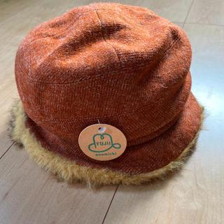 シマムラ(しまむら)の新品未使用ファー付きニット帽定価2900(ニット帽/ビーニー)