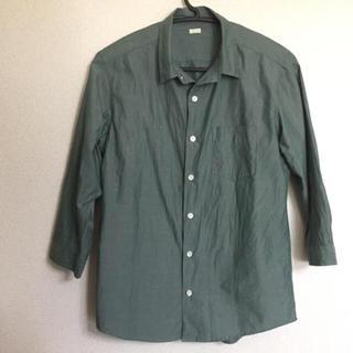 GU - 七分袖シャツ GU ジーユー