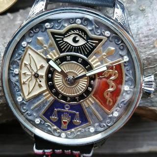 オメガ(OMEGA)の1点もの。すごい【超希少!フリーメイソンomega】(腕時計(アナログ))