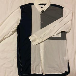 ikka - XLのブロッキングシャツ