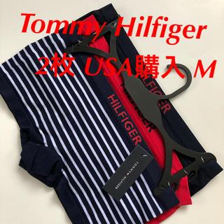 トミーヒルフィガー(TOMMY HILFIGER)のTommy Hilfiger トミー ショーツ 下着 3枚 米購入 M 伸縮性(ショーツ)