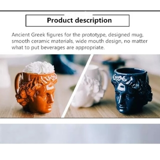 ザラ(ZARA)の《即購入大歓迎‼️》マグカップ スカルプチャー 彫刻 ネイビー (メイクボックス)
