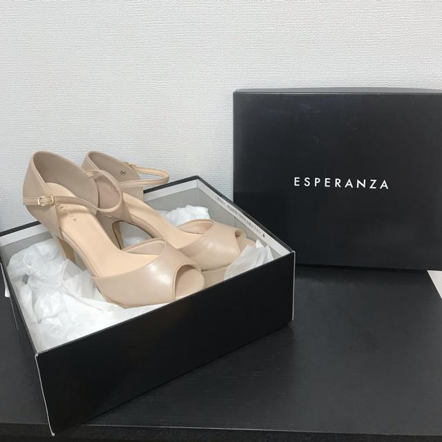 ESPERANZA(エスペランサ)のESPERANZA ヒールパンプス 未使用 24センチ レディースの靴/シューズ(ハイヒール/パンプス)の商品写真