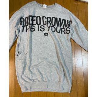 RODEO CROWNS WIDE BOWL - ロデオクラウンズchampionスウェットワンピ