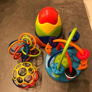 ボーネルンド(BorneLund)の★りこぴん様専用★オーボール おもちゃセット ベビー(知育玩具)
