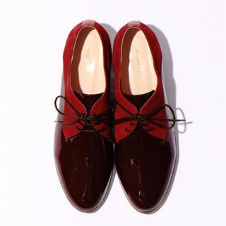 オゥバニスター(AU BANNISTER)の最終値下げ AU BANNISTER レースアップシューズ 22.5cm(ローファー/革靴)