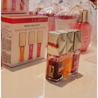 クラランス(CLARINS)のクラランス コンフォート リップオイル 3本セット(リップグロス)