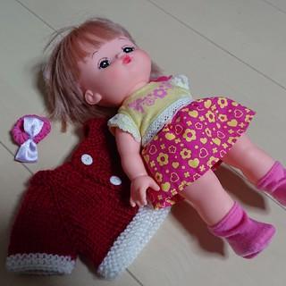 パイロット(PILOT)の(1月末まで販売)メルちゃん&ニット セット(ぬいぐるみ/人形)