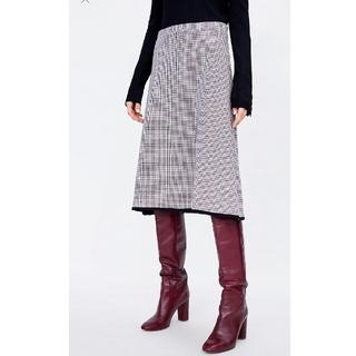 ZARA - ZARA【タグ有】チェック柄スカート