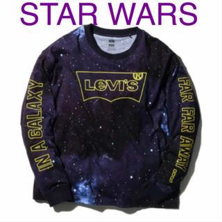 Levi's - 新品 Levi's スターウォーズ コラボ 長袖 Tシャツ リーバイス ロゴ