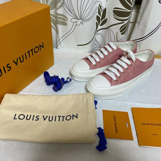 LOUIS VUITTON - 極美品 Louis Vuitton ルイヴィトン ステラー・ライン スニーカー