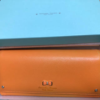 サマンサタバサ(Samantha Thavasa)のSamantha Thavasa 財布 オレンジ(財布)