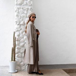 ルームサンマルロクコンテンポラリー(room306 CONTEMPORARY)のroom306 long chester coat beige 未使用品(ロングコート)