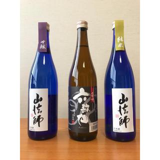 日本酒 4合瓶 3本 六歌仙酒造 山形県(日本酒)