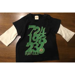 エーアーベー(eaB)のe.a.B  七部丈Tシャツ 80cm(Tシャツ)