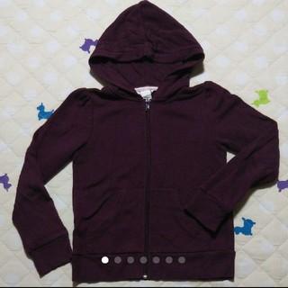 エイチアンドエム(H&M)のH&M エイチアンドエム 裏起毛 パーカー パープル  紫 上着 120㎝(ジャケット/上着)