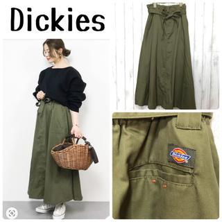 ディッキーズ(Dickies)のDickies×BAYFLOW ツイルフレアスカート(ロングスカート)