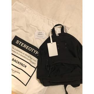 マルタンマルジェラ(Maison Martin Margiela)のメゾン マルジェラ MAISON MARGIELA バッグパック 新品 黒(バッグパック/リュック)