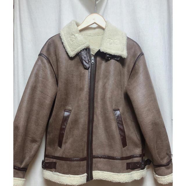 merlot(メルロー)のエコムートンコート レディースのジャケット/アウター(ムートンコート)の商品写真