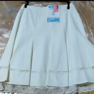 M-premier - リュデべー スカート 1 白 ホワイト レース
