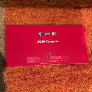 アルファロメオ フィアット 卓上カレンダー 八光 新品未開封