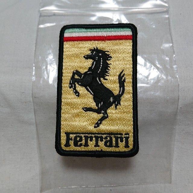 Ferrari(フェラーリ)のフェラーリ アイロンワッペン 自動車/バイクの自動車(その他)の商品写真