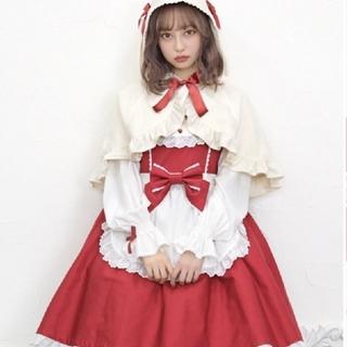 アンジェリックプリティー(Angelic Pretty)のロップイヤーセット新品未使用完売(ひざ丈ワンピース)