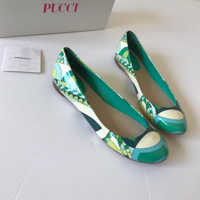 EMILIO PUCCI(エミリオプッチ)の美品 エミリオプッチ  フラットシューズ  靴  37   バレエシューズ レディースの靴/シューズ(バレエシューズ)の商品写真