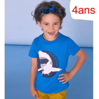プチバトー(PETIT BATEAU)のライトコットンプリント半袖Tシャツ(Tシャツ/カットソー)