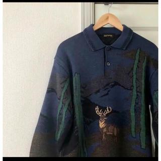 アンダーカバー(UNDERCOVER)の刺繍ニット(ニット/セーター)