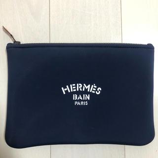 エルメス(Hermes)のエルメス フラットポーチ  MM ネオバン・ジャガー 新品未使用 ウェットスーツ(セカンドバッグ/クラッチバッグ)