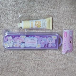 サンリオ(サンリオ)の【新品】  ハミガキセット とハンドクリーム(歯ブラシ/歯みがき用品)