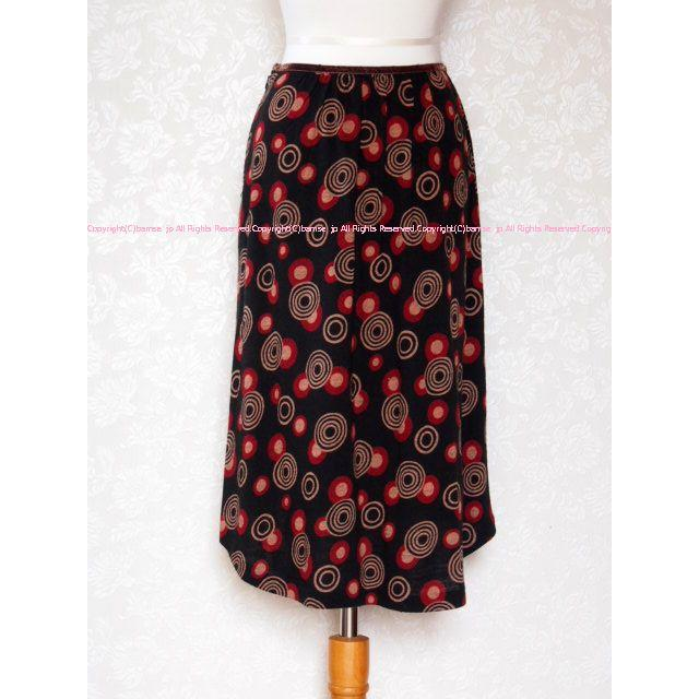 iiMK(アイアイエムケー)のミッシェルクラン 後ろ下がりなフィッシュテールスカート 38/iiMK レディースのスカート(ひざ丈スカート)の商品写真