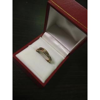 カルティエ(Cartier)のCartier カルティエ 3連リング トリニティ(リング(指輪))