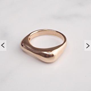 jumelle ジュメロ ふみあみ 指輪 シルバーリング ピンクゴールド(リング(指輪))